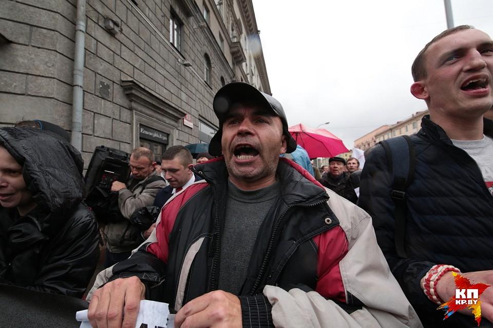ВМинске прошла несанкционированная акция оппозиции