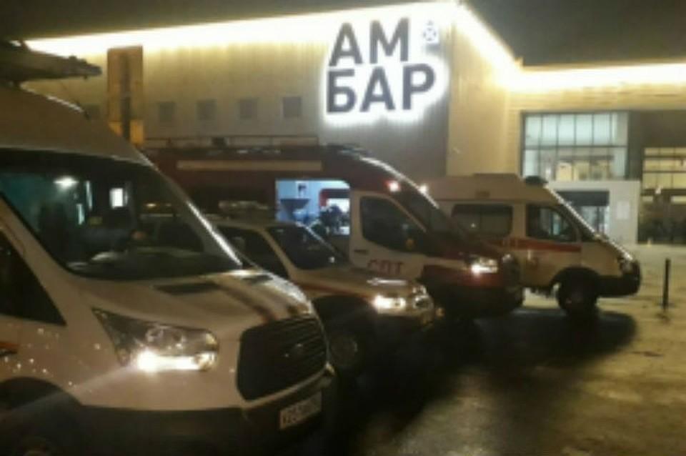ВСамаре пожар вТЦ Амбар тушили 121 человек