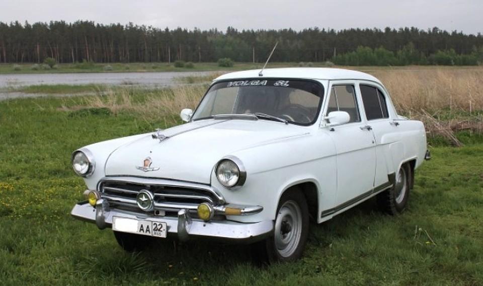 Легендарный ГАЗ-21 «Волга» созвездой выставили на реализацию вБарнауле