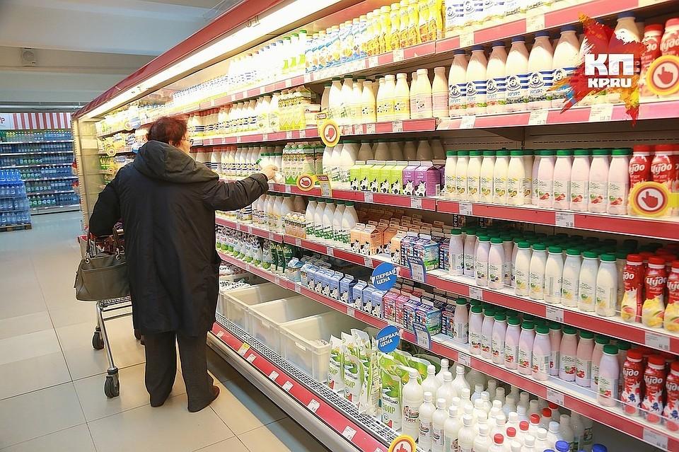 Вкрасноярских гастрономах отыскали молочный фальсификат изХакасии