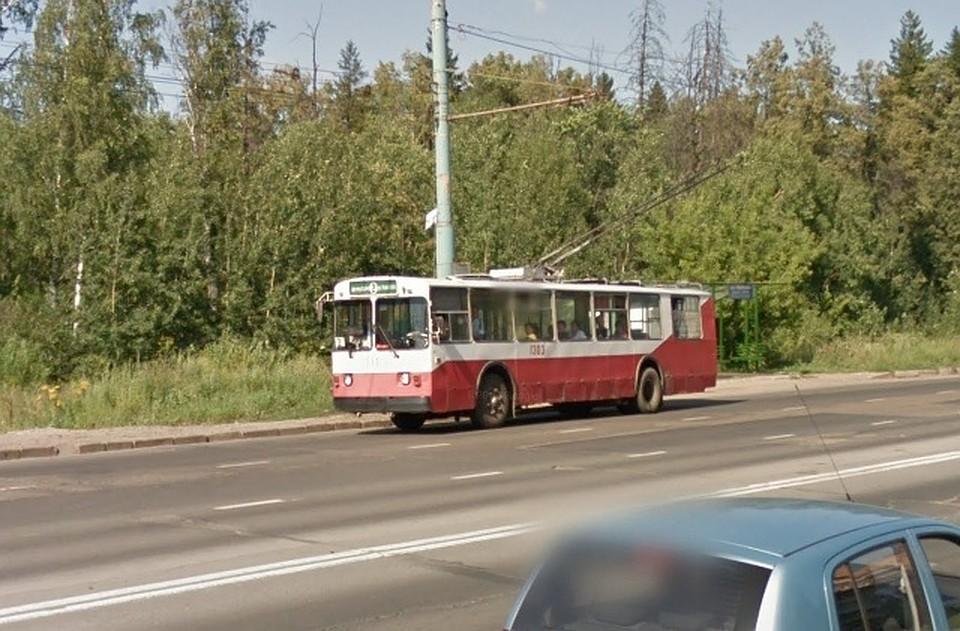 ВИжевске разыскивается мужчина, избивший водителя троллейбуса наостановке «Ударная» ФОТО