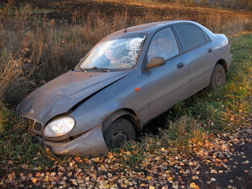 ВТамбовской области автомобиль «ЗАЗ» съехал вкювет: трое оказались в клинике
