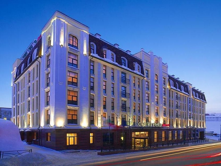 Сооружение отеля Marriott несмогли реализовать за1,08 млрд руб.