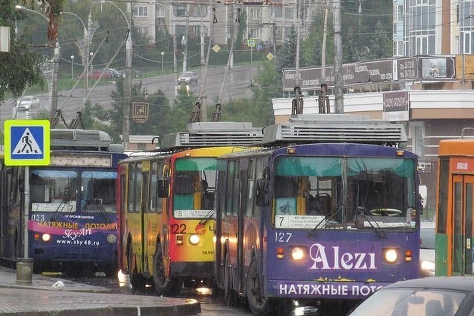 ВНовочебоксарске надва слишним часа встали все троллейбусы