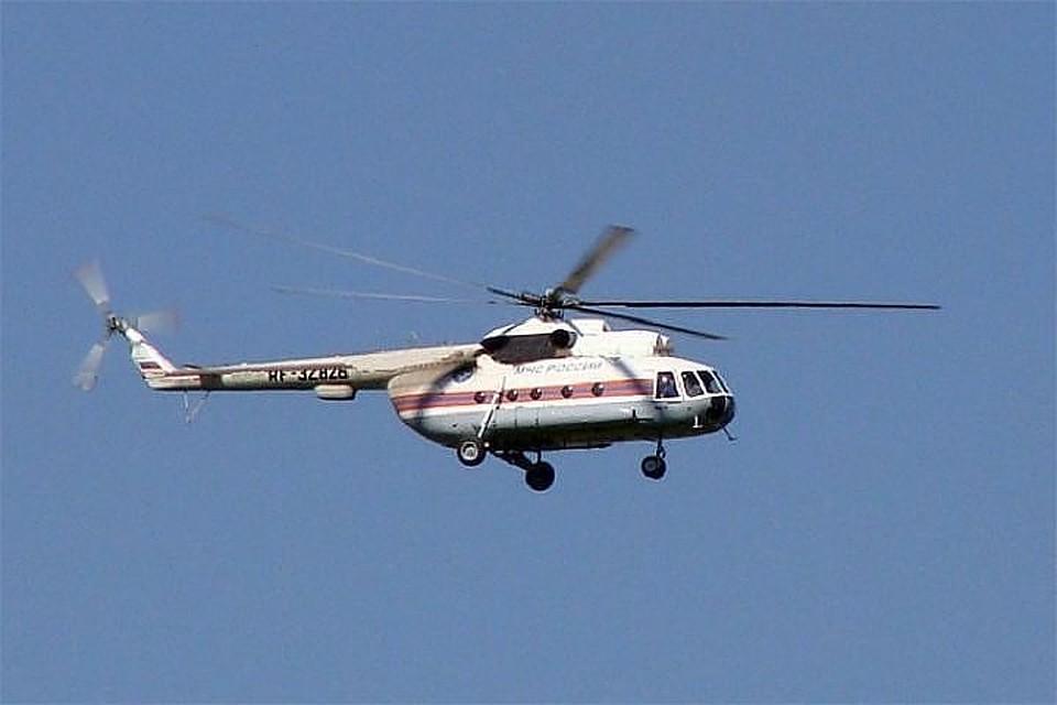 МЧС направит наместо крушения вертолета Ми-8 уШпицбергена спасателей