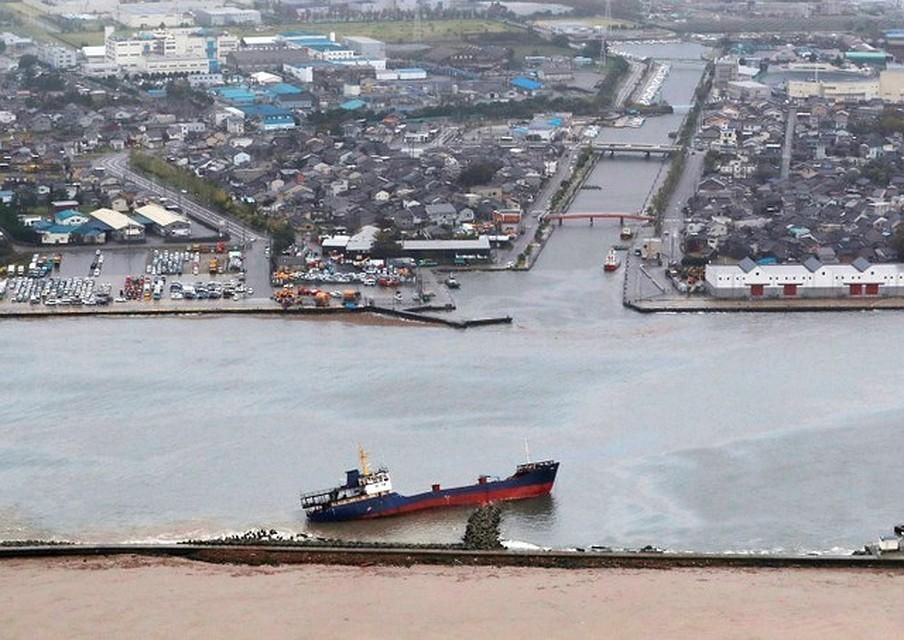 Наюге Японии тайфун привел котмене 55 авиарейсов