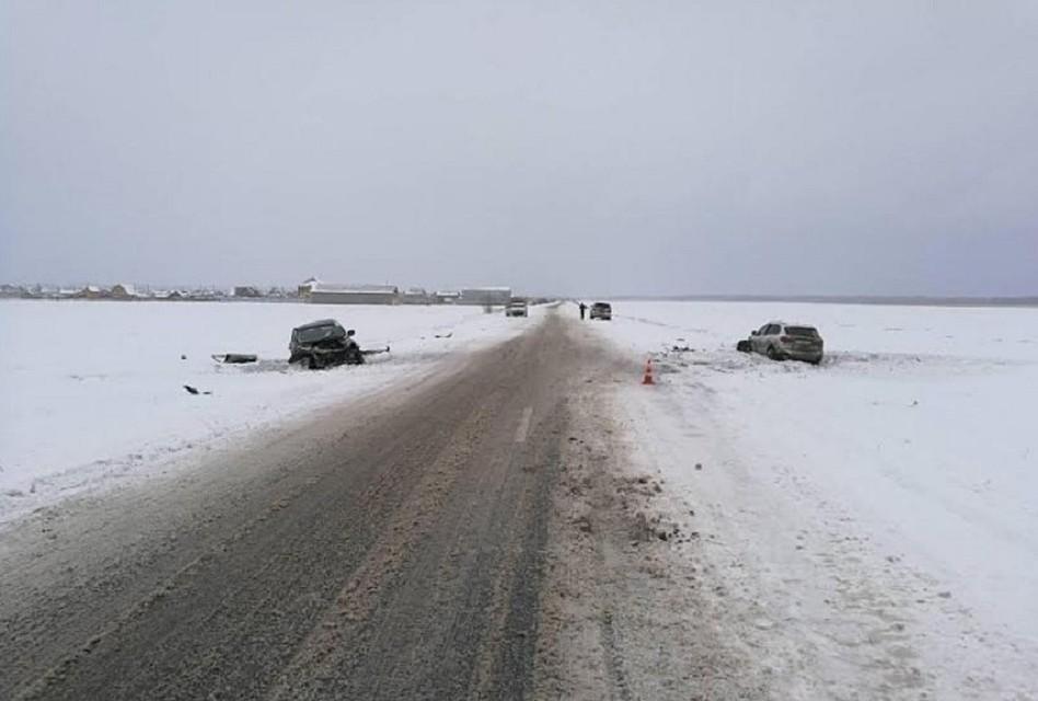 ВТюменской области вДТП пострадали два человека