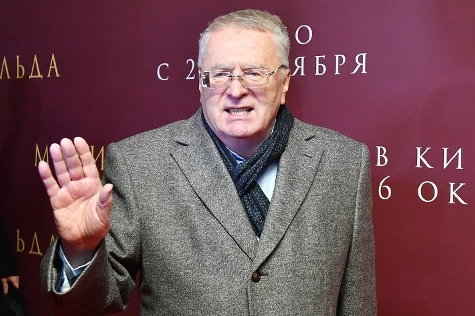 Владимир Жириновский предлагает переименовать Волгоград вЦарицын