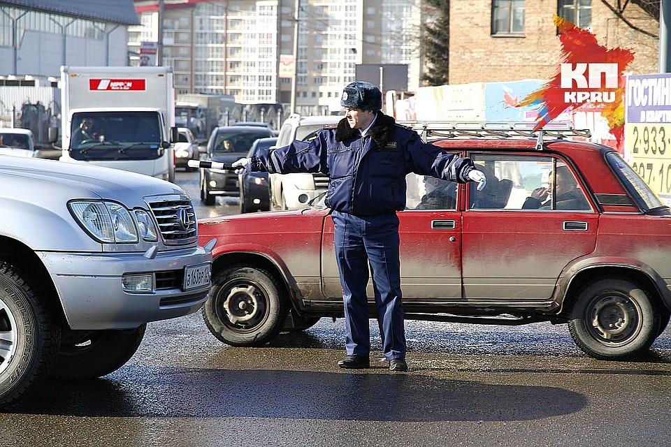 ВКрасноярске подытожили  массовой проверки водителей натрезвость