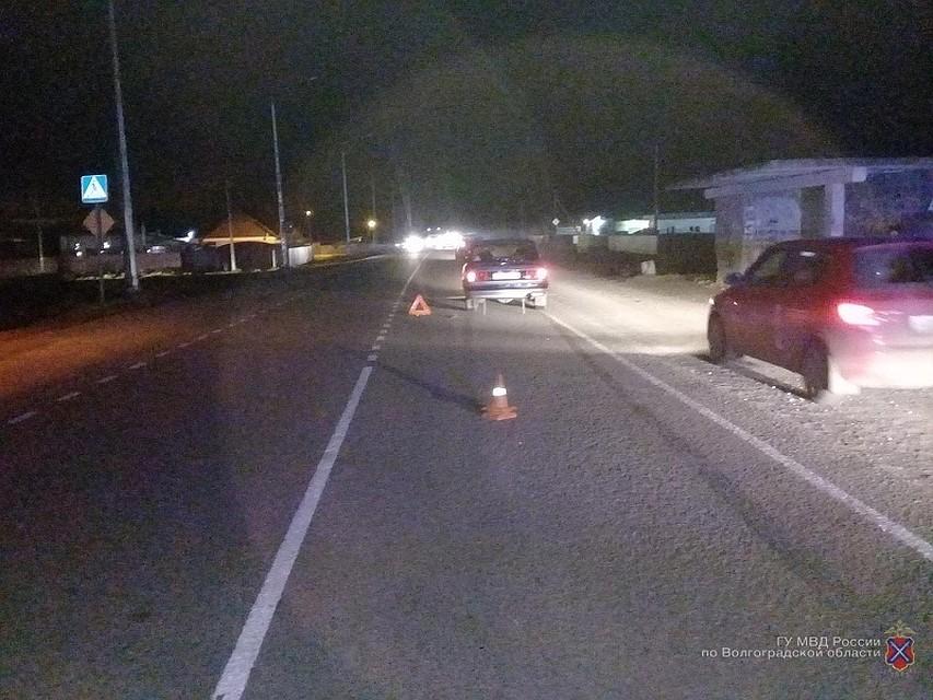 ВВолжском автоледи сбила женщину-пешехода искрылась сместа ДТП