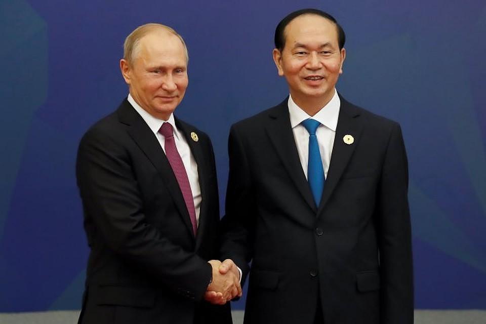 Президент Вьетнама поблагодарил Владимира Путина заучастие всаммите АТС