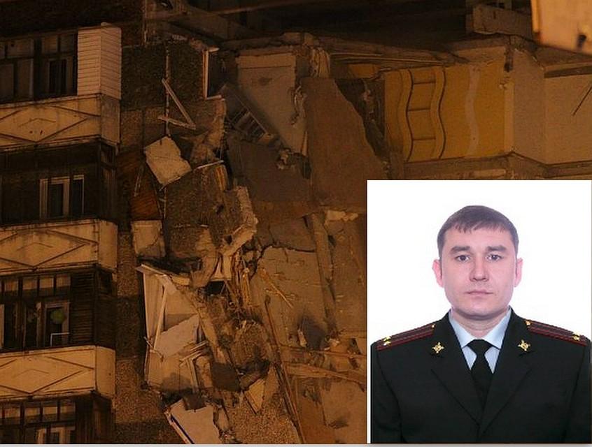 Заместитель начальника милиции Завьяловского района умер при обрушении дома вИжевске