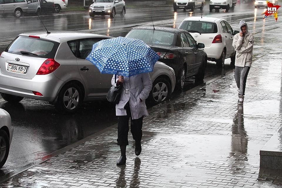 Сегодня вБашкирии прогнозируется слабый дождь соснегом