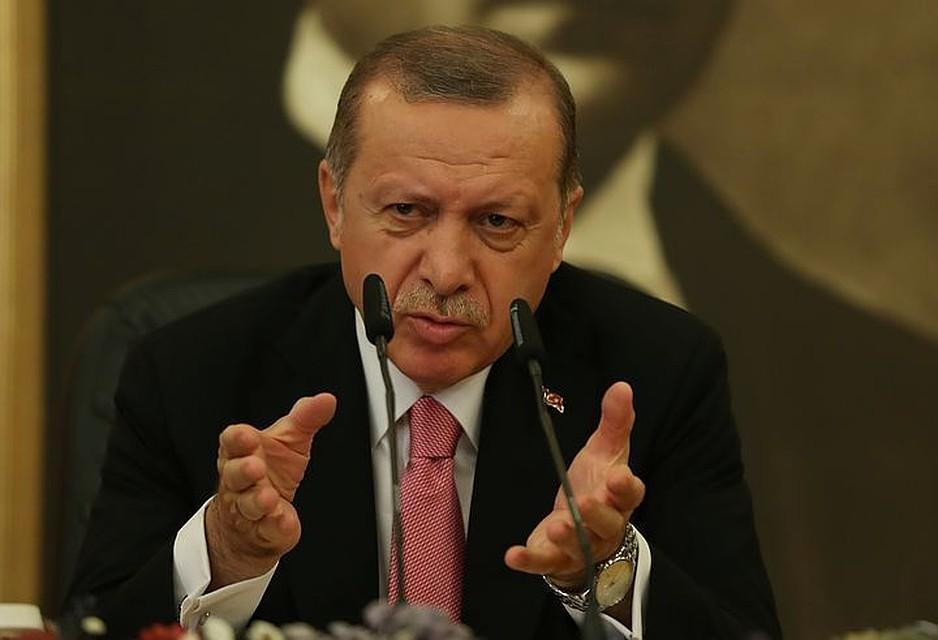 Эрдоган порекомендовал Российской Федерации иСША вывести войска изСирии