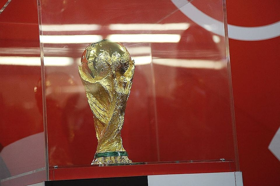 ВКраснодар доставили кубок чемпионата мира пофутболу