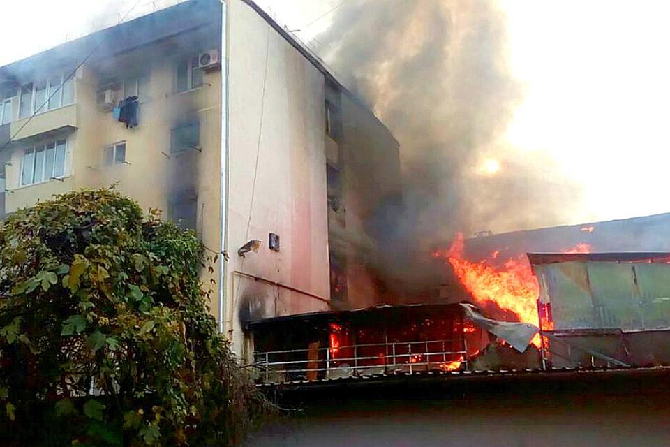 Часть дома, пострадавшую отпожара вСочи, восстановят засчет бюджета