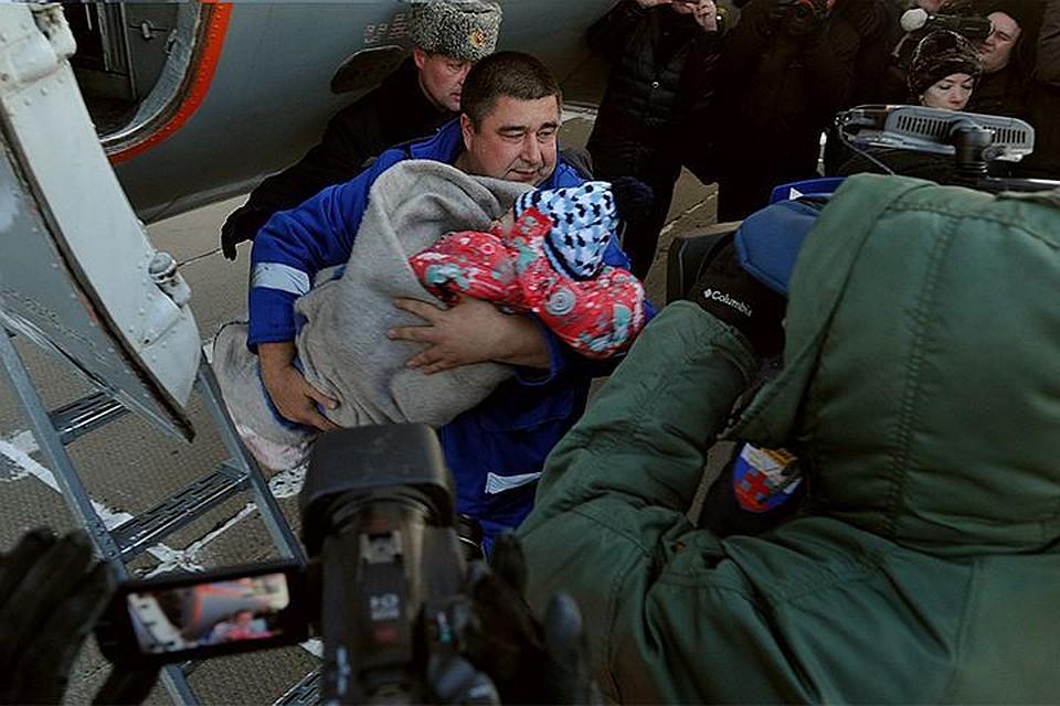 ВХабаровске прооперировали выжившую при крушении самолета девочку