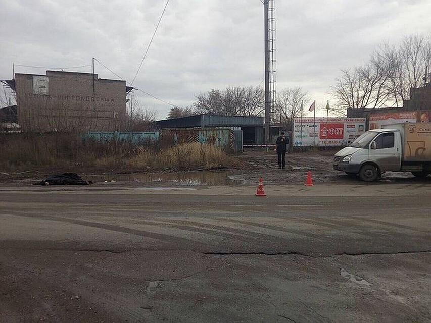 Наулице Товарной вСамаре газелист сбил пешехода иуехал
