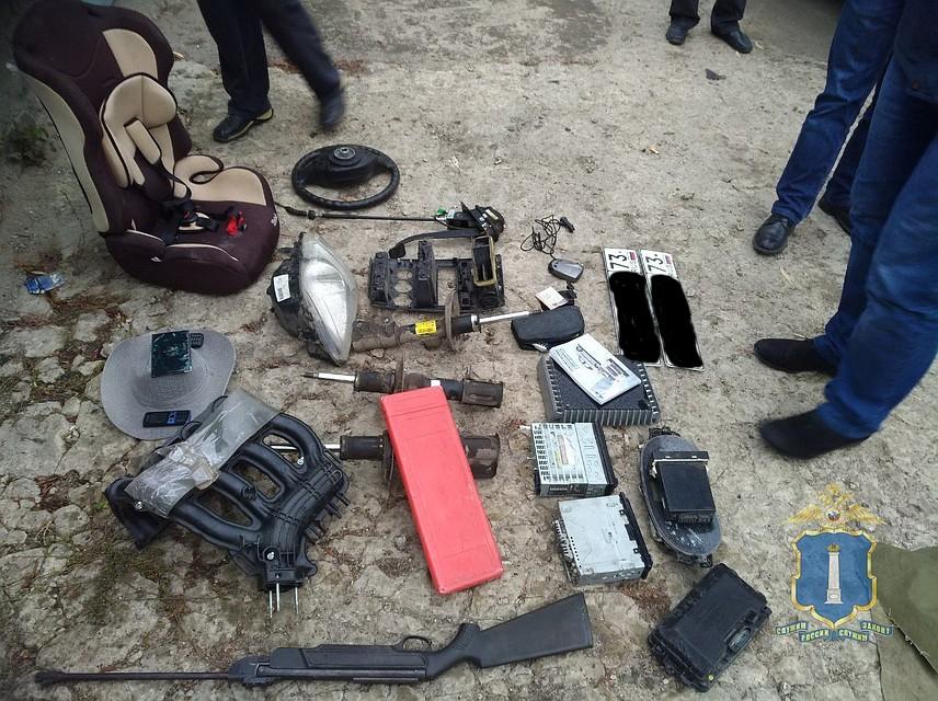 ВУльяновске задержали межрегиональную группу автоугонщиков
