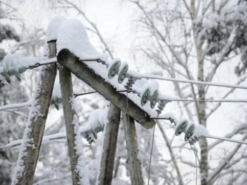 Около 350 домов вТульской области остались без света из-за непогоды