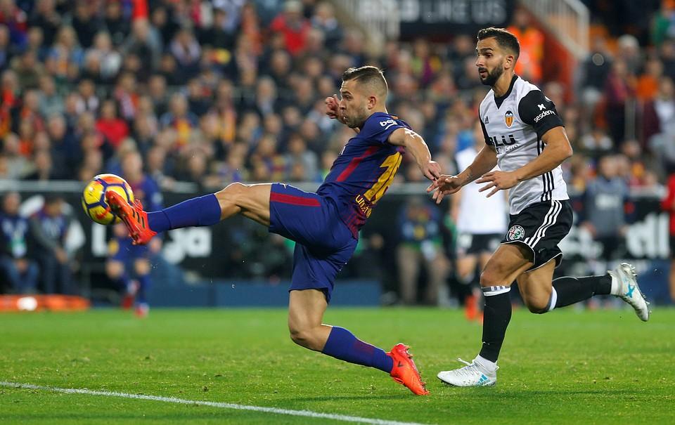«Барселона» и«Валенсия» сыграли вничью вматче чемпионата Испании