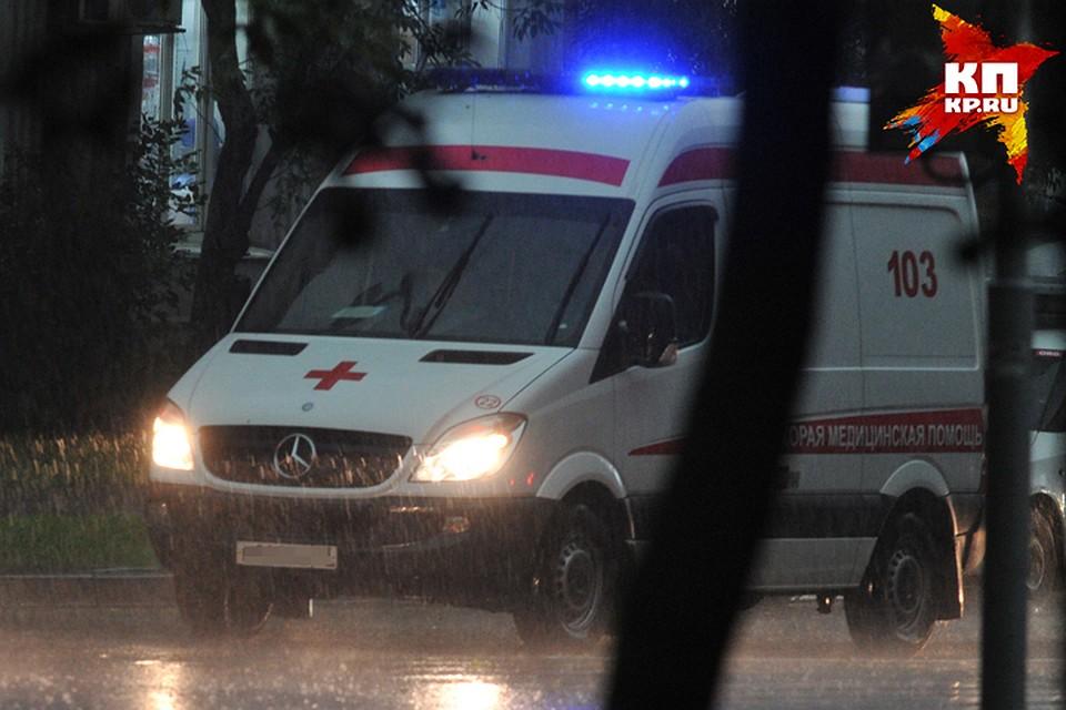 ВДубровке иностранная машина протаранила столб— погибла пассажирка