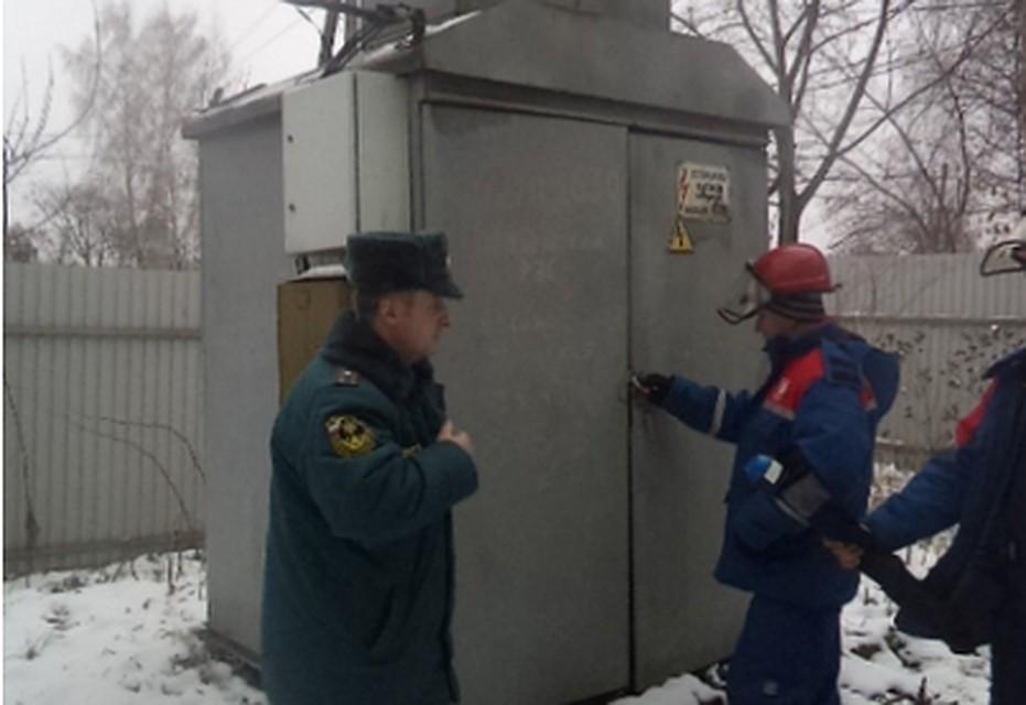ВЩёкинском районе без света остались более 800 жителей