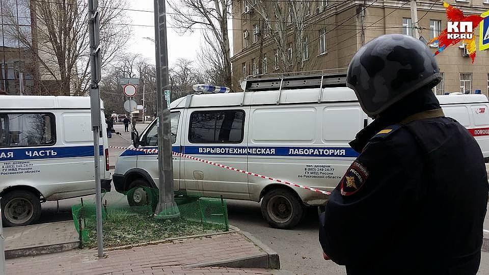 ВРостове-на-Дону прошла массовая эвакуация в университетах иторговых центрах