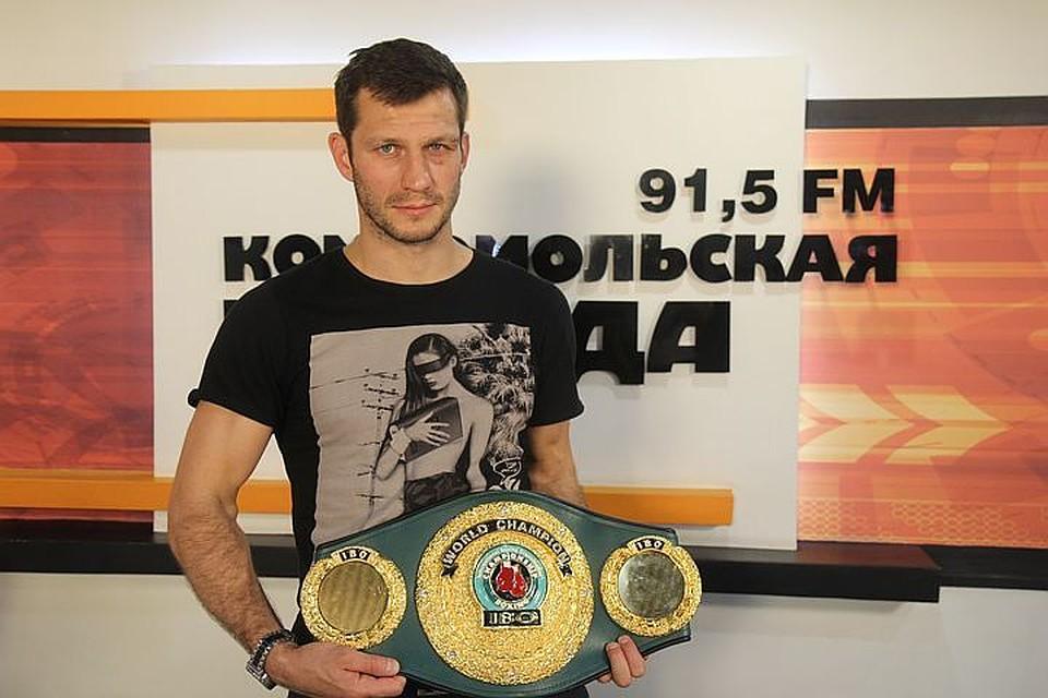 Михалкин защитил титул чемпиона IBO
