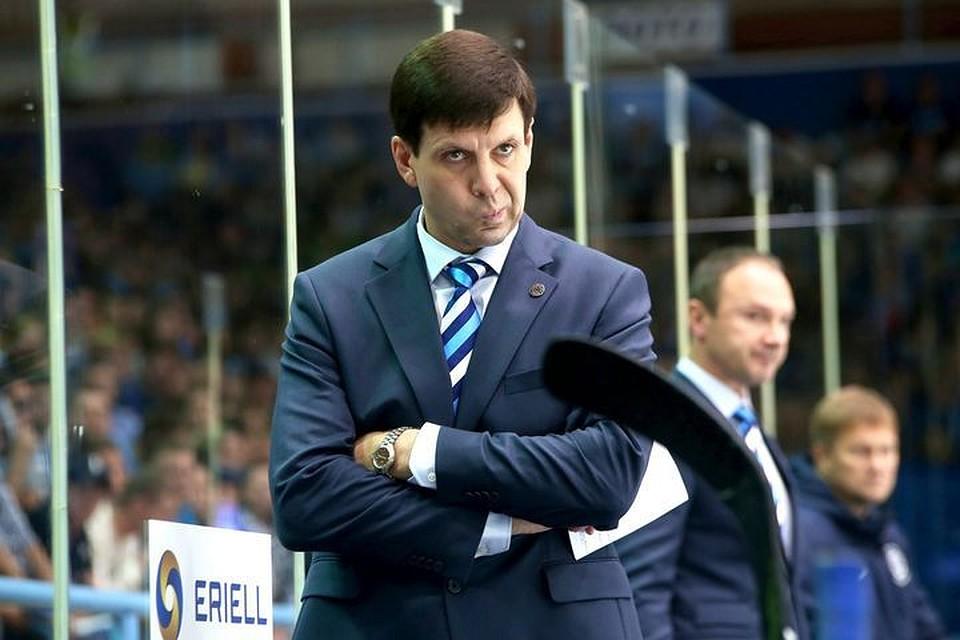 ХК «Сибирь» сменил основного тренера