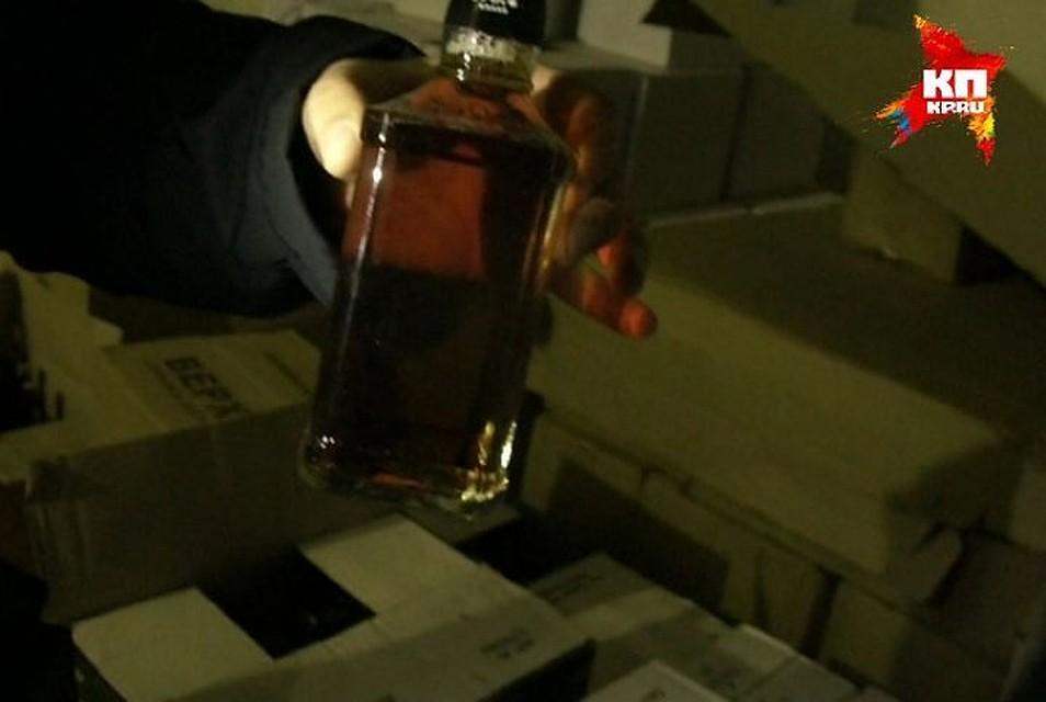Впромзоне вШушарах нелегально  производили паленую водку