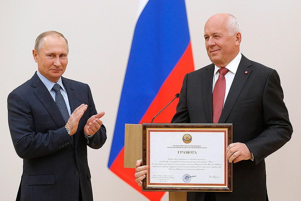 Президент вручит государственные награды сотрудникам «Ростеха»