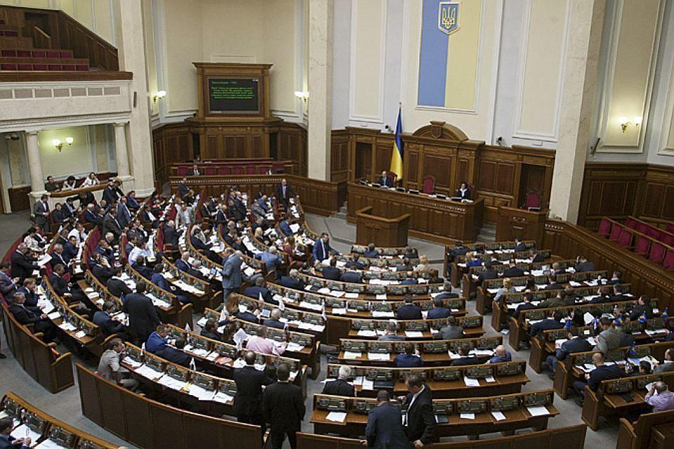 Парламент Украины утвердил бюджет на следующий год сростом ВВП в3%