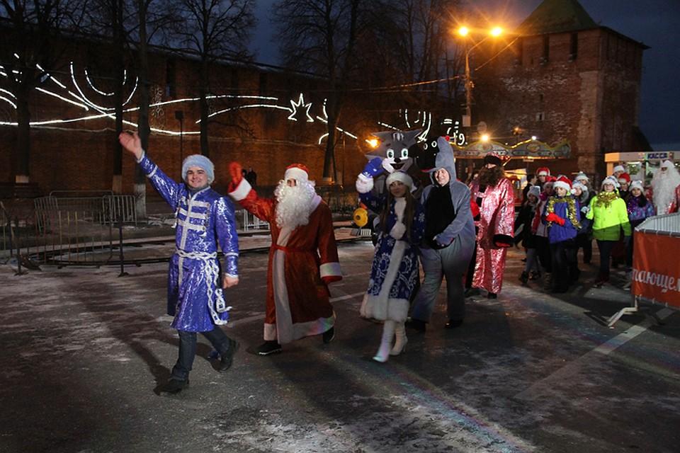 ВНижнем Новгороде создали интерактивную новогоднюю карту