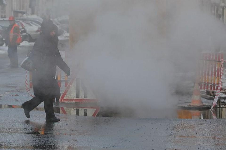 ВПетербурге женщина получила ожоги из-за трагедии натеплосети