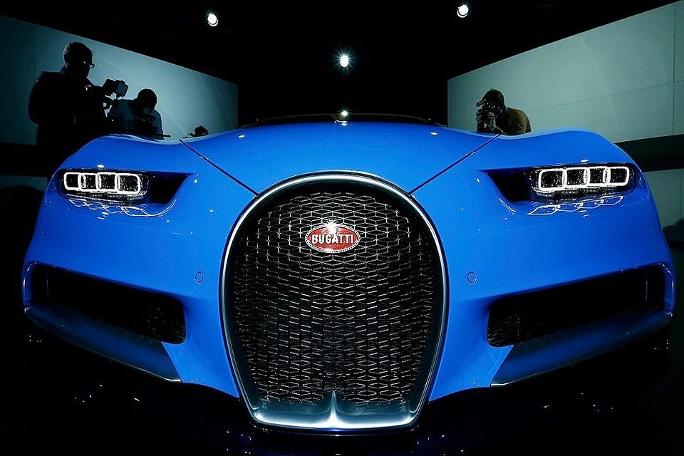 Россиянин купил в Европе Bugatti за 240 млн рублей
