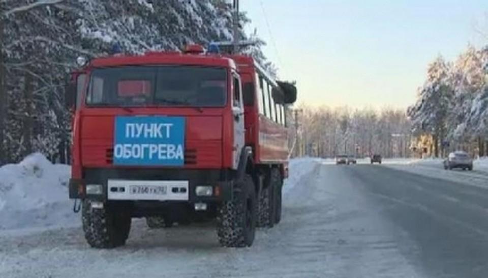 Ханты-Мансийск: Автобус с50 пассажирами сломался надороге Тюмень