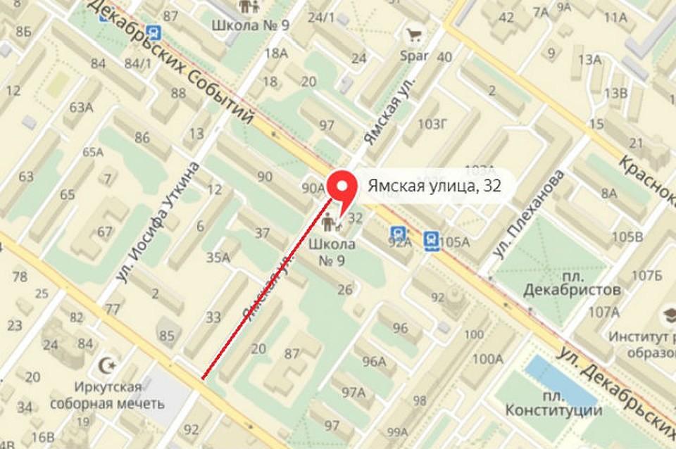 ВИркутске нанеделю перекрыли улицу Плеханова иЯмскую
