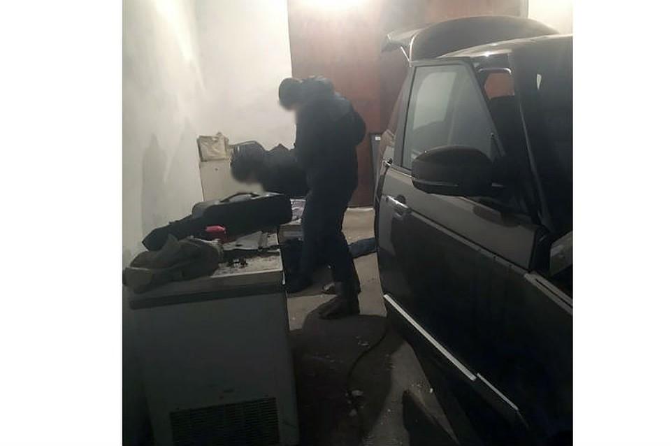 Угонщинков автомобиля Range Rover задержали вПриангарье