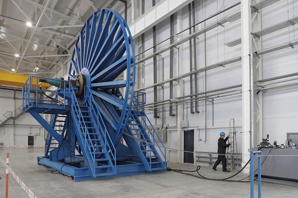 ВУзловой открыли завод «Энгельсспецтрубмаш»