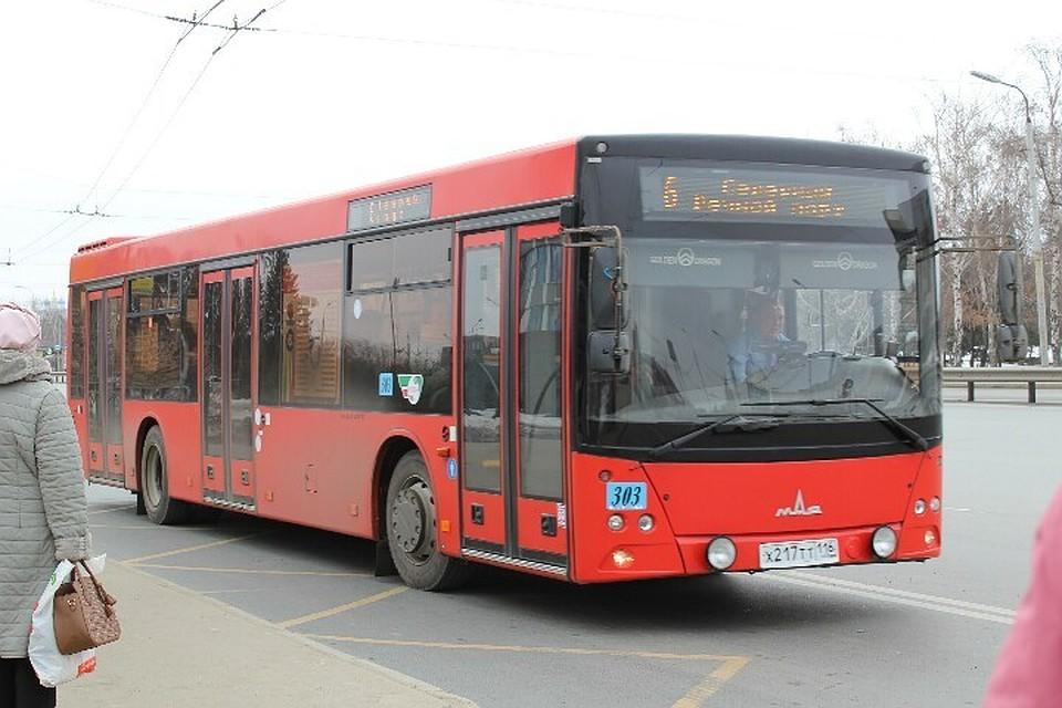 Вновогоднюю ночь публичный транспорт Казани будет работать до2.00