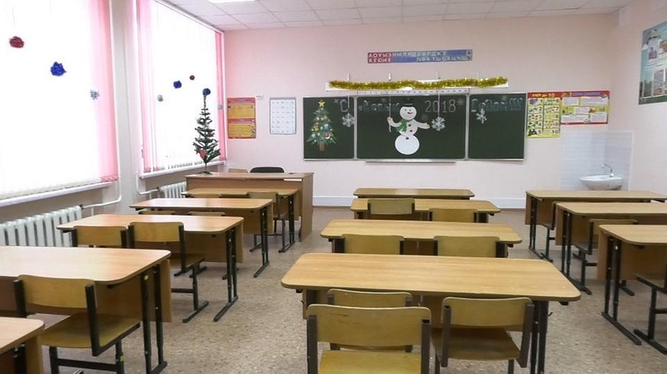 Вкемеровской школе впервый раз за43 года провели полноценный ремонт