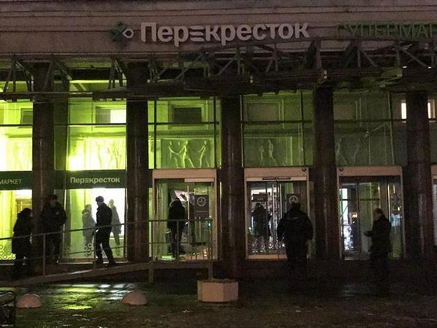 Отвзрыва всупермаркете Санкт-Петербурга пострадали девять человек— Сработала самодельная бомба