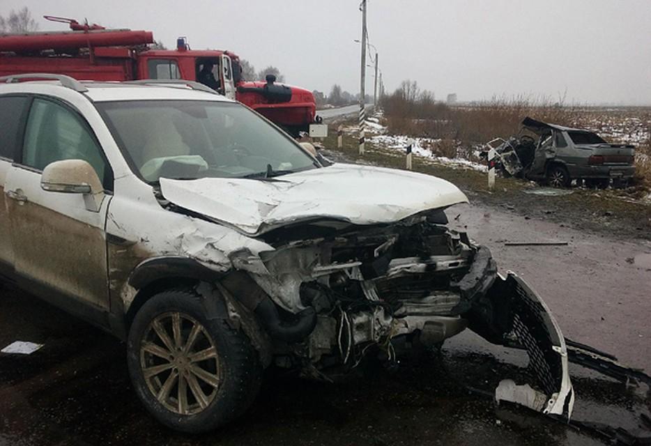ВСараях вДТП умер шофёр ВАЗа