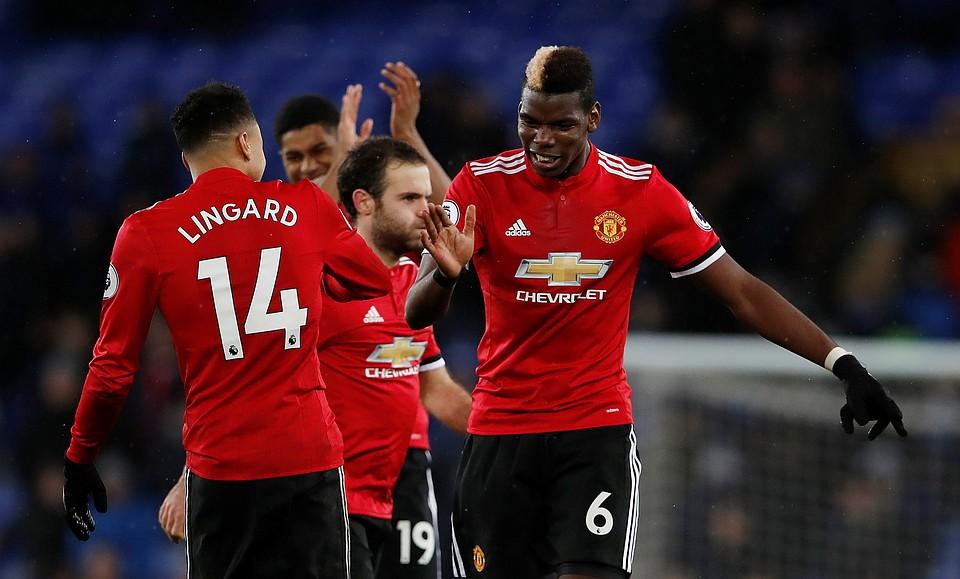 «Манчестер Юнайтед» всухую обыграл «Эвертон»