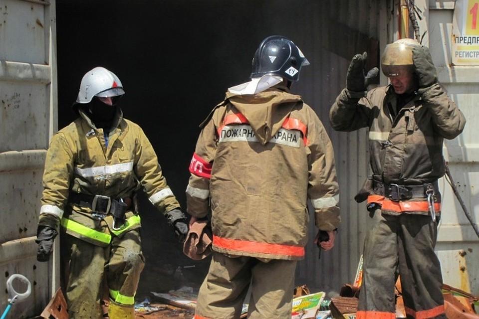 Баня сгорела вРостове наулице Доватора