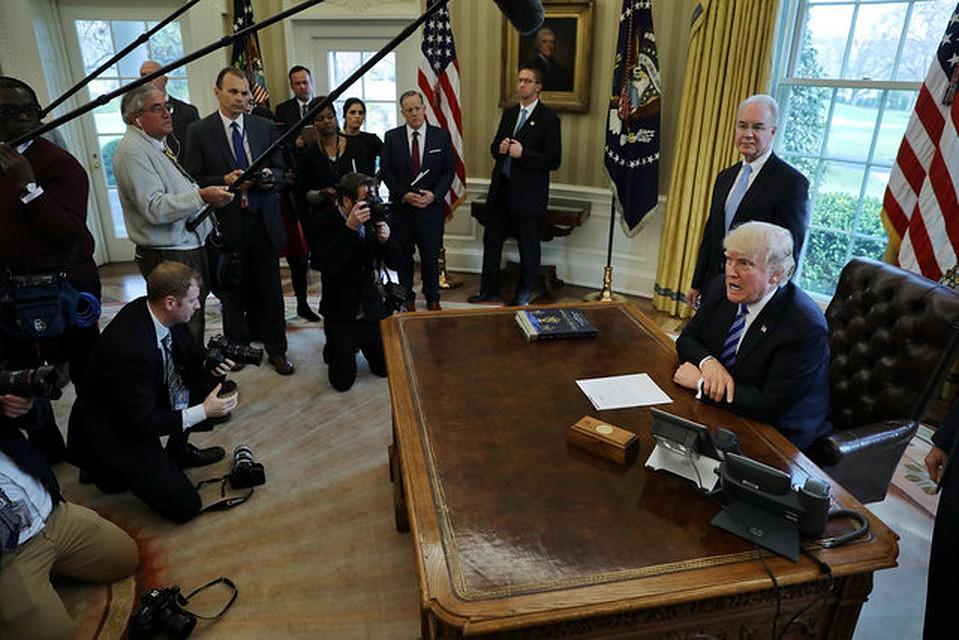 Трамп допустил возможность переговоров сКНДР