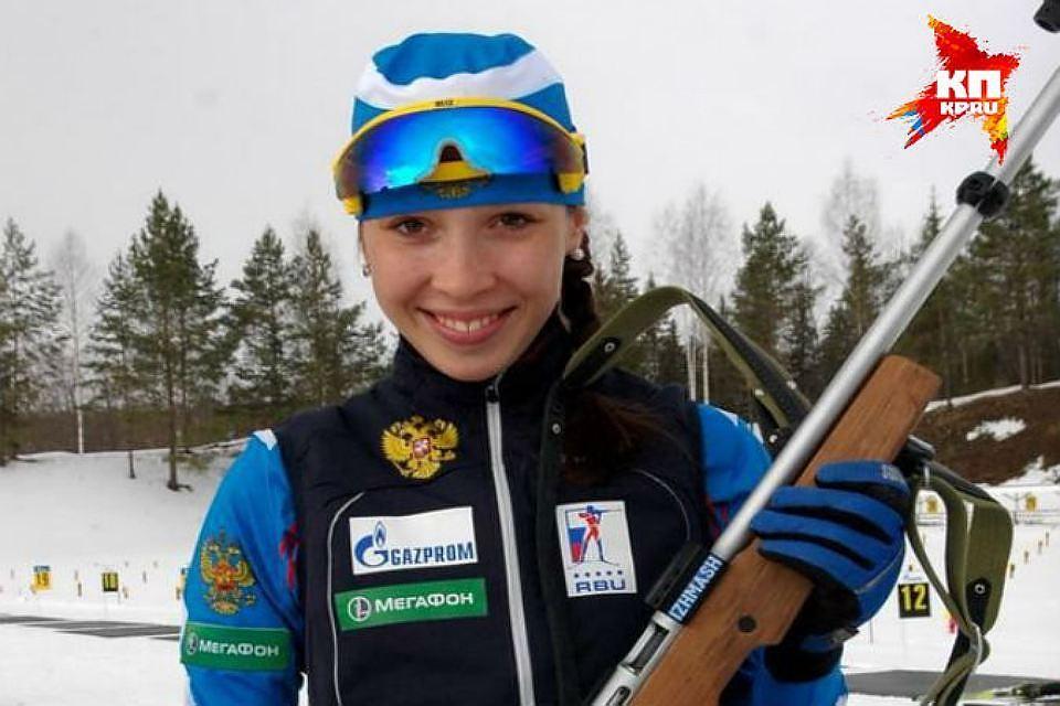 Ульяна Кайшева выиграла спринт наэтапе Кубка IBU