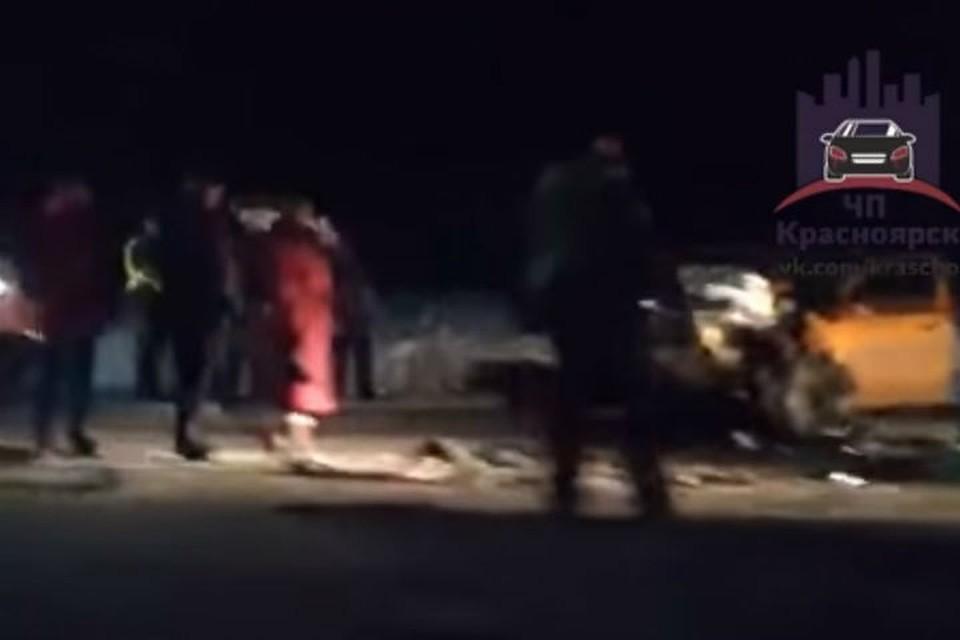 Двое взрослых идвое детей погибли вДТП вКрасноярском крае