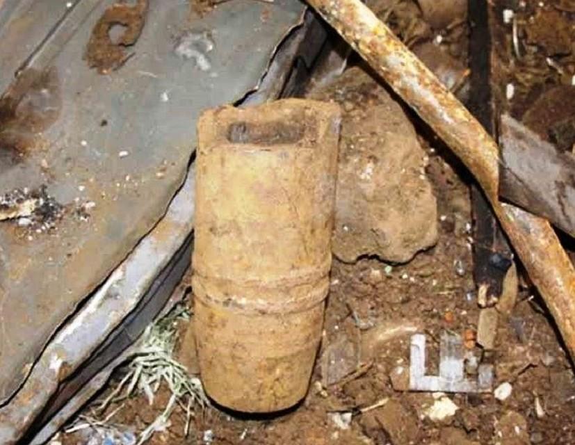 Артиллерийский снаряд времен ВОВ отыскали вфирме вЧереповце